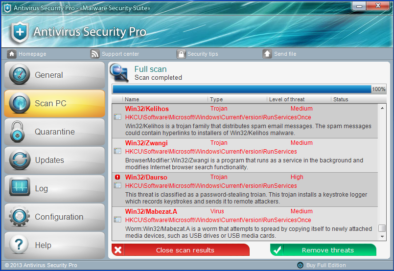 Don't get duped by some dodgy Antivirus Scam, if you're not 100% certain about something, call your Local I.T. Expert!